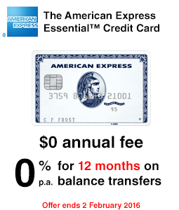 The American Express Essential Credit Card - Sponsorship