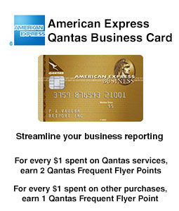 American Express Qantas Business Credit Card