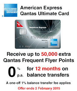 American Express Qantas Ultimate Card