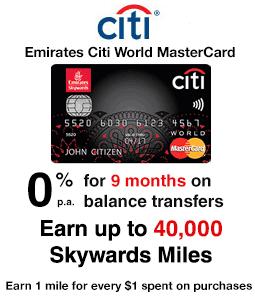 Emirates Citi World MasterCard