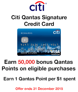 Citi Qantas Signature Credit Card