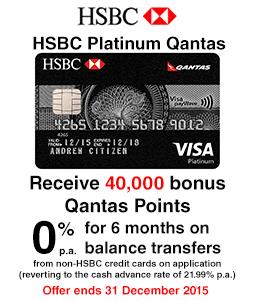 HSBC Platinum Qantas Credit Card