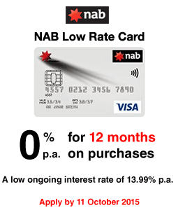 NAB Low Rate Credit Card