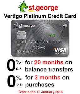 St.George Vertigo Platinum