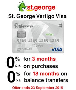 St.George Vertigo Visa