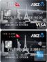 ANZ Frequent Flyer Platinum American Express/Visa