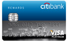 Citi Rewards Credit Card - Platinum Card