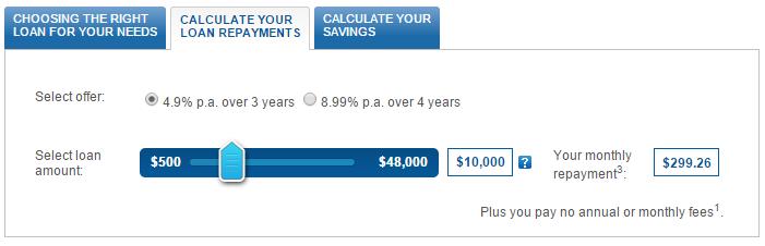 personal loan repayment calculator commbank - 3