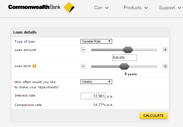 Commonwealth bank forex calculator