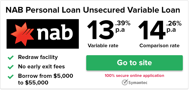 NAB Unsecured Variable Rate Personal Loan Review | finder.com.au
